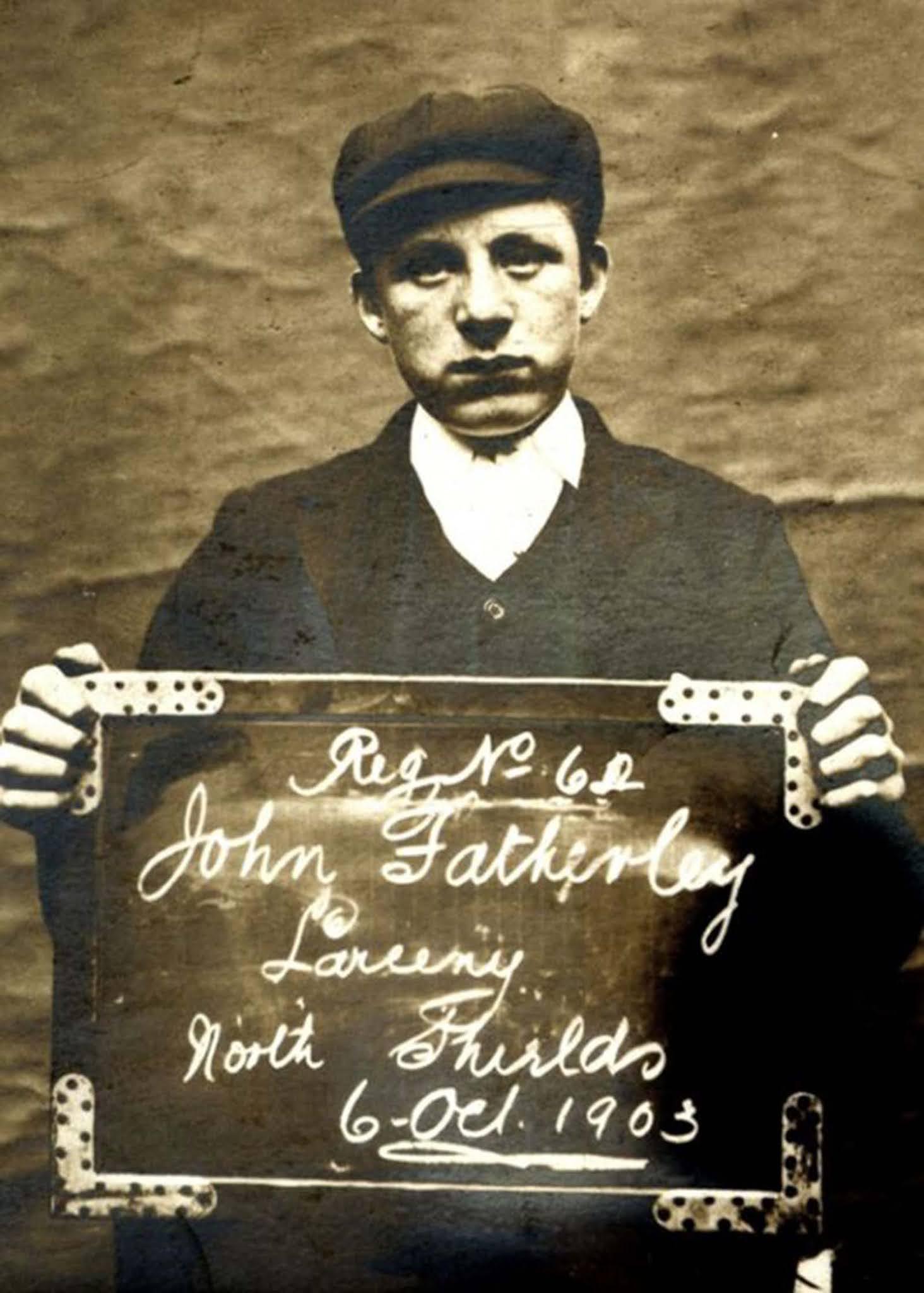 Fotos de niños criminales de la Gran Bretaña eduardiana, 1900-1910