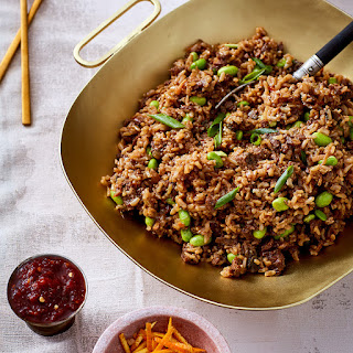 current favourite instapot recipe: orange beef and rice (adapted from the instant pot bible)