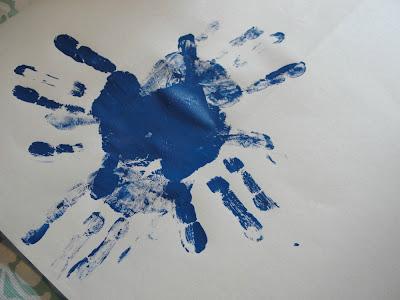 hand print ring