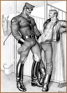 Former policeman spank