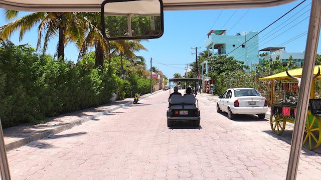 Como se locomover em Isla Mujeres