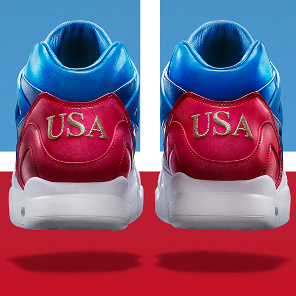 51a2bf7f0e Nike Air Tech Challenge II SP. US Open. White, Prize Blue, University Blue,  Gym Red. 621358-146