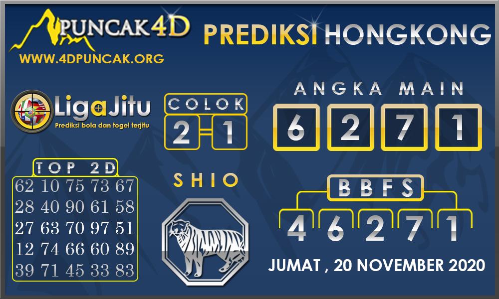 PREDIKSI TOGEL HONGKONG PUNCAK4D 20 NOVEMBER 2020
