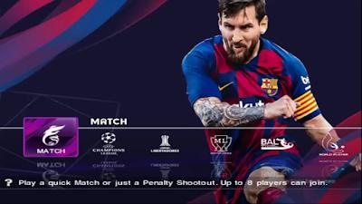 eFootball PES 2020 PS2 English Version Season 2019/2020
