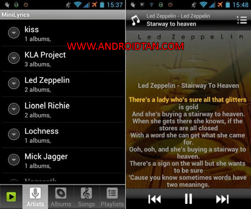 Crinsoft Music Player Apk