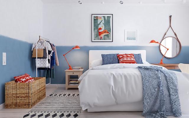 Mẫu thiết kế nội thất chung cư 105m2 hiện đại và ấn tượng nhất năm 2018 - H4