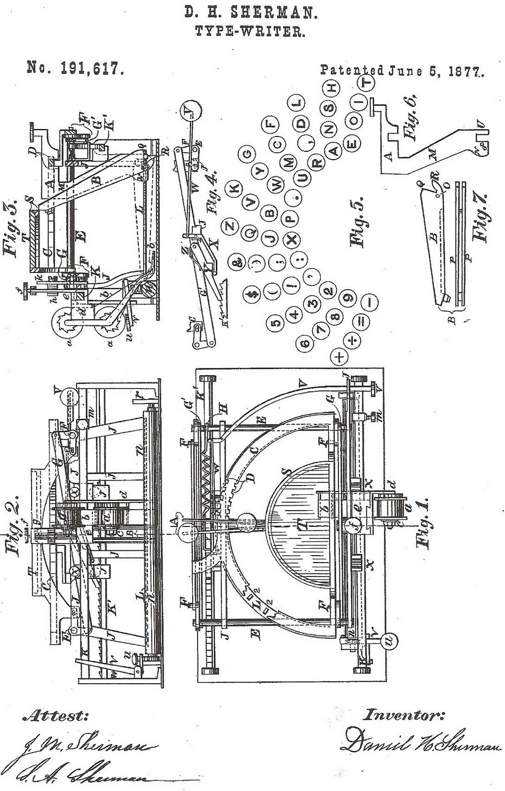 Oztypewriter On This Day In Typewriter History Xvi 1949 Parker 51 Fountain Pen Diagram And Gift Set Photo Vintage Print