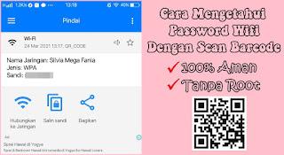 Cara Melihat Password Wifi Dengan Barcode Di Android