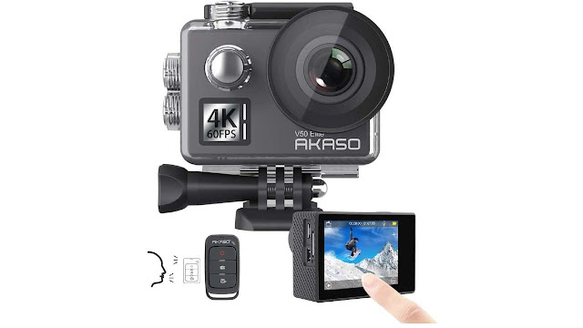 AKASO V50 Elite 4K60fps Waterproof Camera