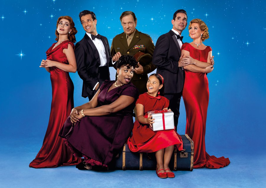 The Cast Of White Christmas.Musical Theatre News Full Cast Announced For White