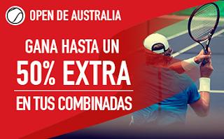 sportium extra combinadas Open de Australia 2018