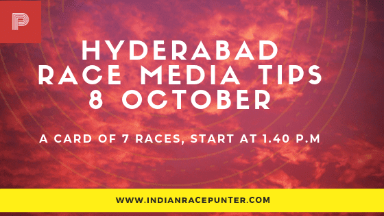 Hyderabad Race Media Tips 8 October