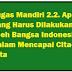 Tugas Mandiri 2.2. Apa yang Harus Dilakukan Oleh Bangsa Indonesia dalam Mencapai CIta-Cita