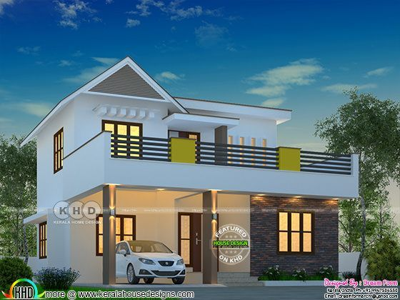 3 bedroom beautiful budget friendly home plan