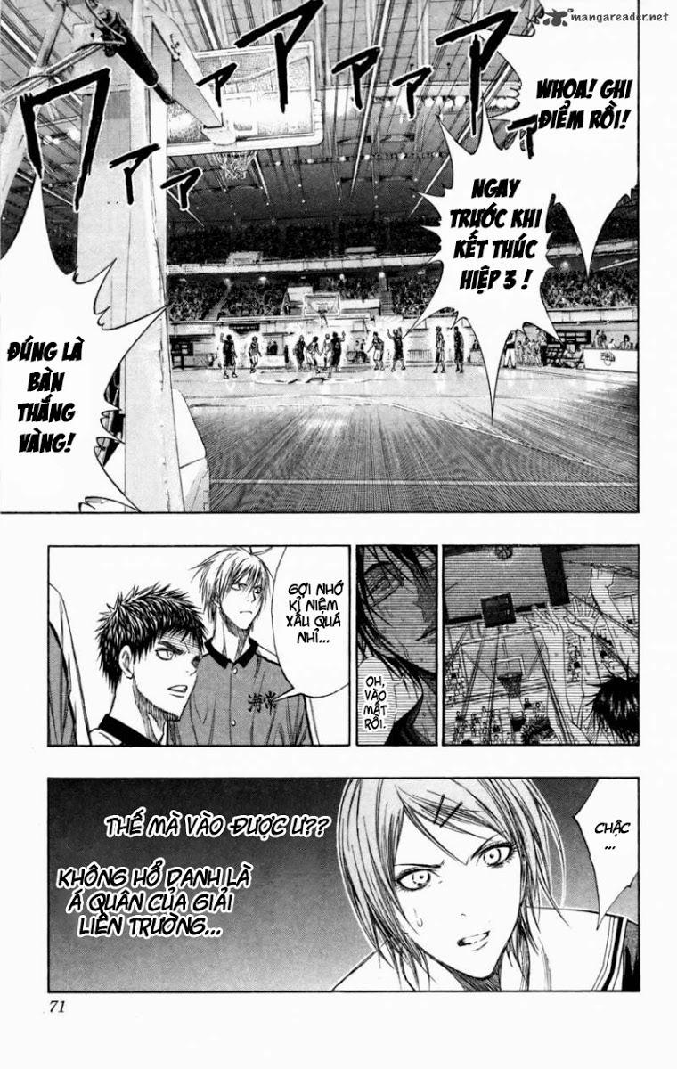 Kuroko No Basket chap 130 trang 5
