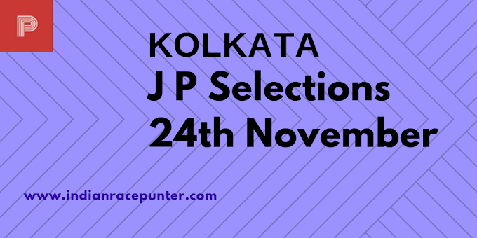Kolkata Jackpot Selections 24th November