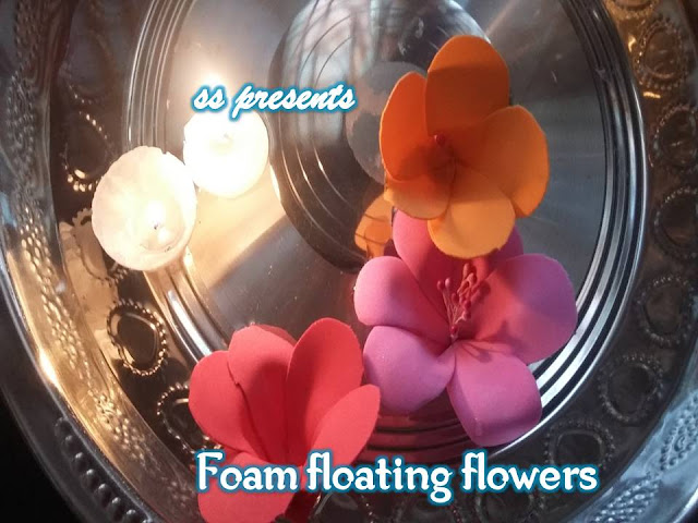 Here is Images for foam floating flowers,DIY Floating Flowers And Candles Centerpieces,1000+ ideas about Foam Crafts,Images for foam sheet craft templates,Craft Foam Crafts for Kids,Foam Floating Flowers for Diwali Decorations