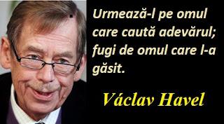 Citatul zilei: 5 octombrie - Václav Havel