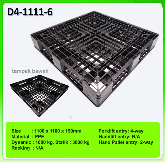 Jual Pallet Plastik One Way series