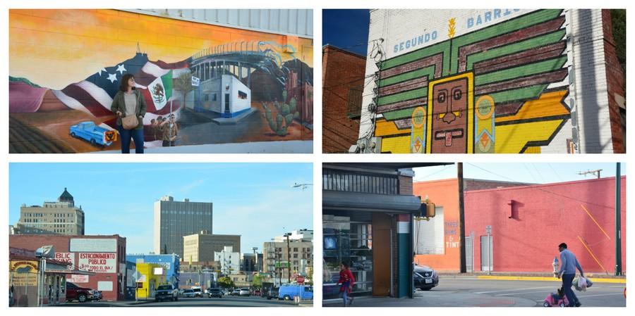 Visite de Secundo Barrio El Paso