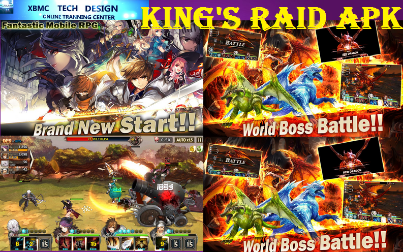 Download Latest Update King's Raid APK Android King's Raid APK Android