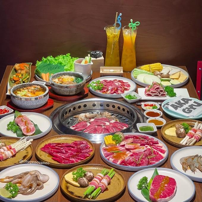 Akagyu - Nhà hàng nướng Xích Ngưu Nhật Bản Quận 1