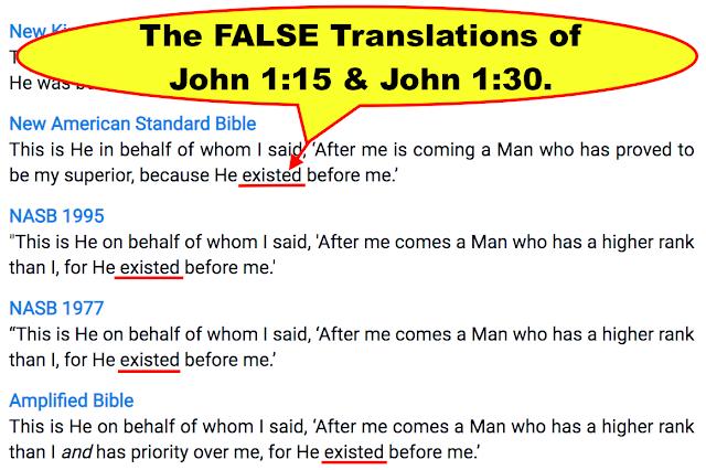 John 1:15 & John 1:30.