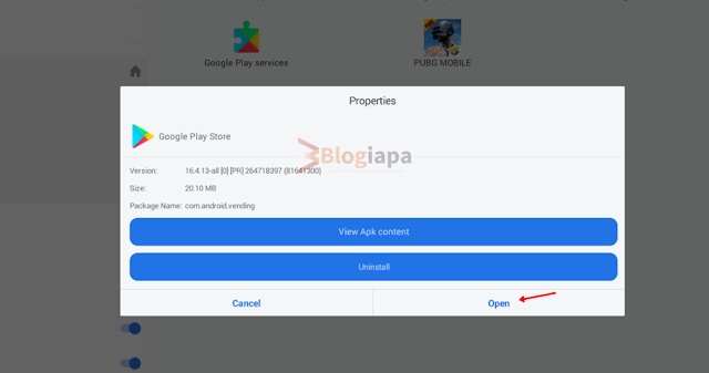 google play apk open in es file manager gameloop