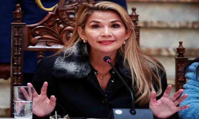 Coronavirus. La présidente de Bolivie annonce qu'elle a été testée positive Coronavirus. La présidente de Bolivie Jeanine Añez Chavez annonce qu'elle a été testée positive