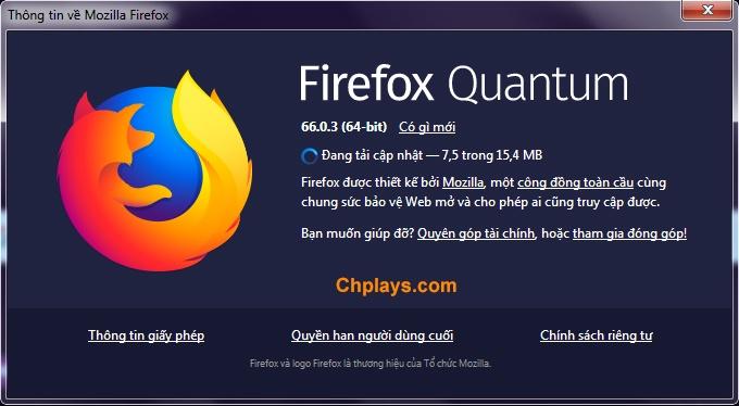 Download Firefox- Tải trình duyệt Mozilla Firefox tiếng Việt mới nhất c