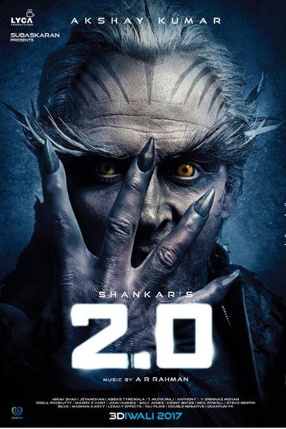 2.O Movie Poster