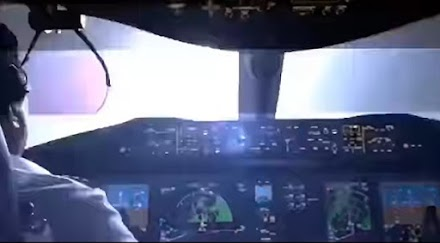 Καταιγίδα από το cockpit αεροσκάφους (video)