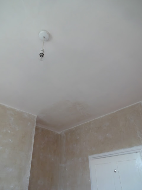 laura ashley paper white on ceiling