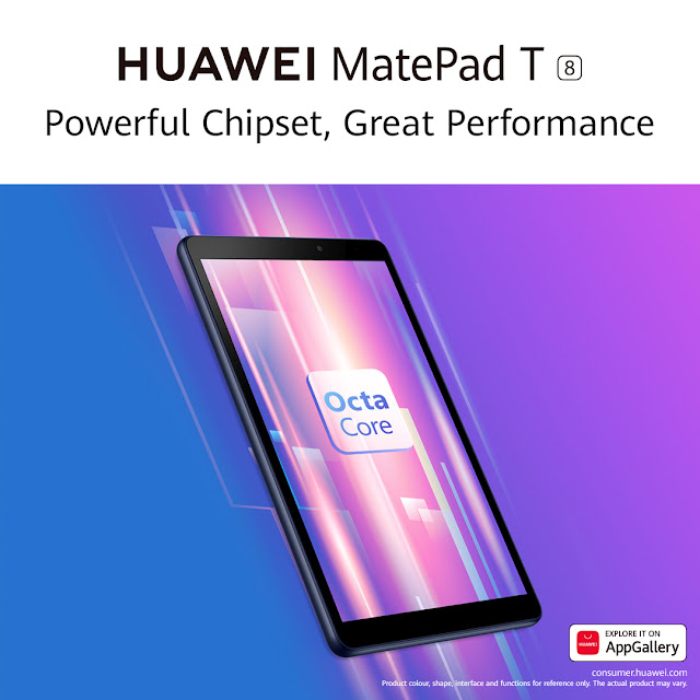 Study to Play @HUAWEIza #MatePadT8 is Your Child's Digital Best Friend