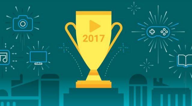 أفضل تطبيقات ، ألعاب ، أفلام ، البرامج التلفزيونية ، الاندرويد لعام 2017