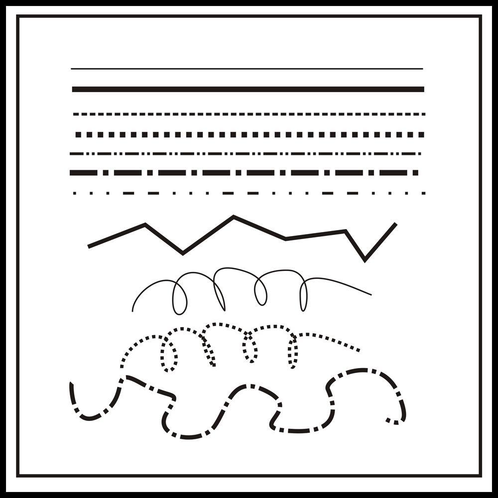Digitaladies Room: Mengenal Unsur Garis Pada Desain Grafis
