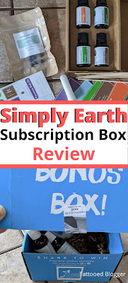 Simply Earth subscription box review.