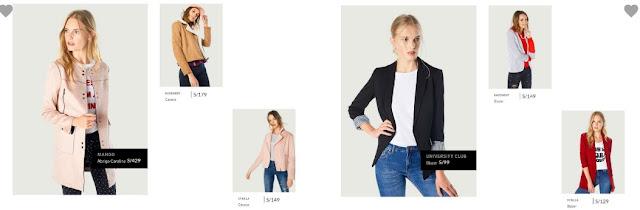 Catalogo de ropa Saga falabella
