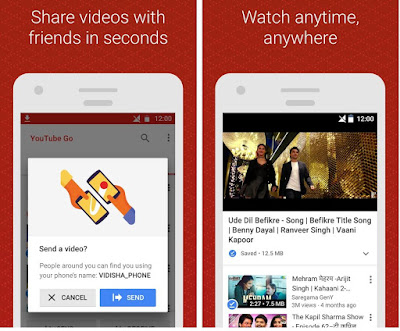Youtube Go Android app - Watch, Download and Share Videos with Slow Internet