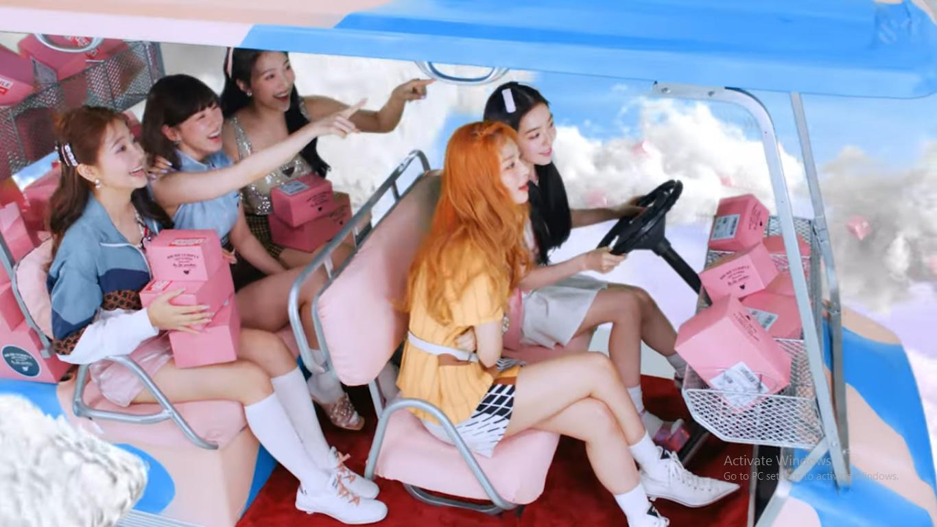 Red Velvet Presents Full of Imagination MV for Comeback Song 'Queendom'
