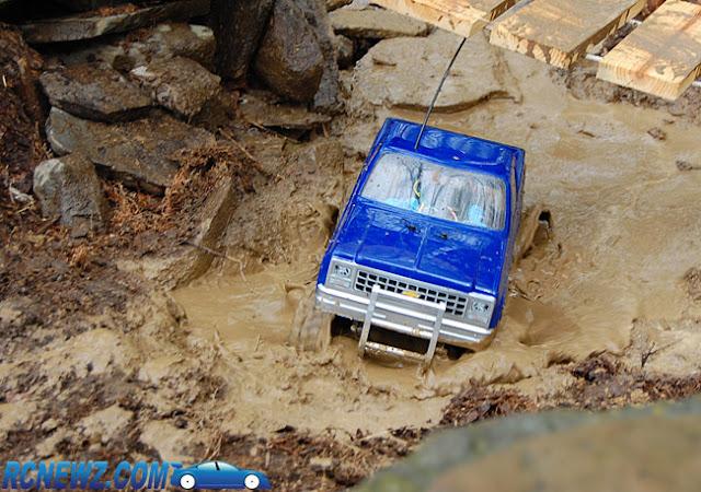 Tamiya High Lift mud truck