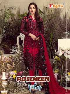 Fepic Roseem Vibes New Pakistani Suits