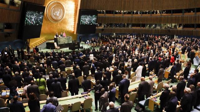 Μόνο η Τουρκία ψήφισε κατά του Δικαίου της Θάλασσας στην Γ.Σ. του ΟΗΕ