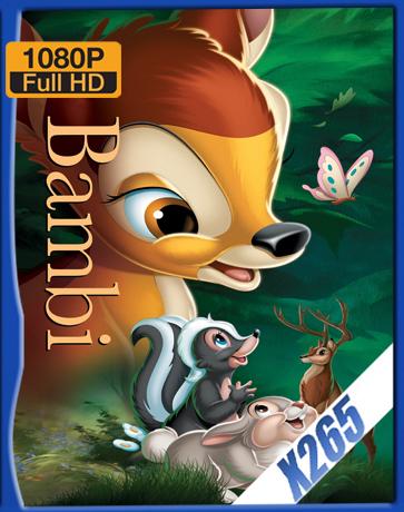Bambi [1942] [Latino] [1080P] [X265] [10Bits][ChrisHD]