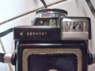 Light meter TLR Yashica 44 LM