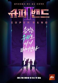 Korean Variety Show-JTBC Super Band Season 2