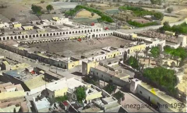 مدينة انزكان سنة 1950 Inezgane city in 1950