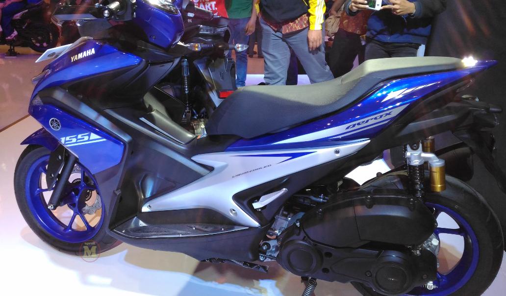 Perbedaan 3 tipe yamaha aerox 155 vva oprek motor for Yamaha philippines price list 2017