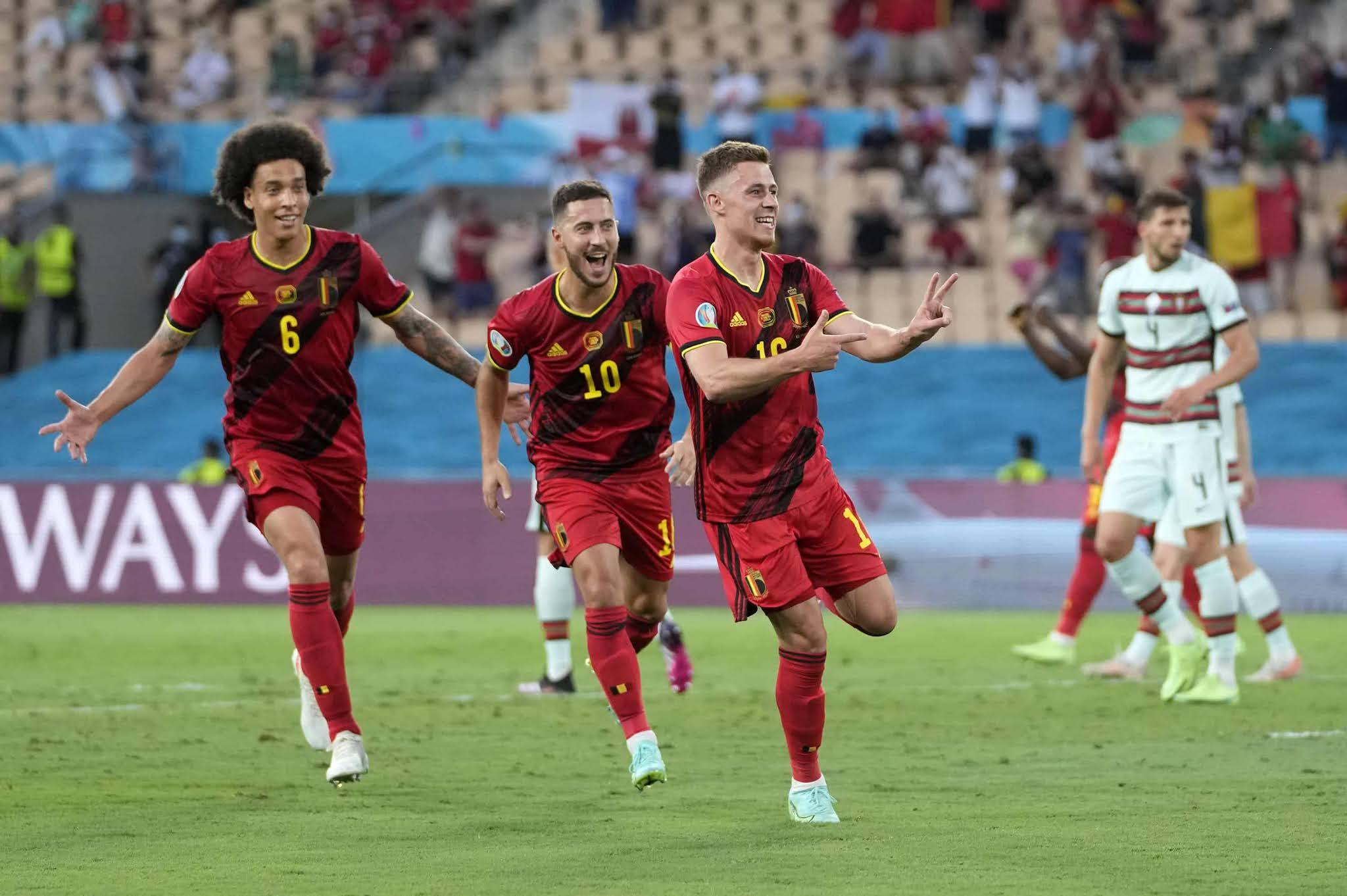 Bélgica eliminó al Portugal de Cristiano Ronaldo y República Checa dio la sorpresa