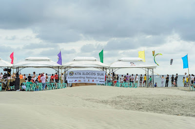Kiteboarding National Open KTA Ilocos Sur Puro Pinget Island Magsingal Ilocos Sur Philippines